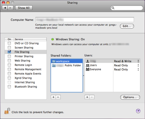 mounting shared folders in mac os x leopard - greg's weblog